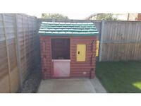little tykes log cabin playhouse