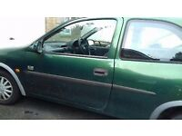 MOT Failure Vauxhall Corsa 1997