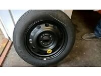 Brand new space saver spare wheel- for Ford Fiesta - Toyota Yaris- Peugoet - Bmw