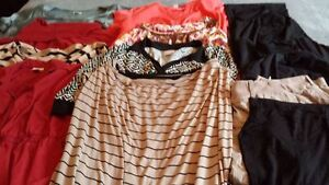Plus Size 1X Lot of Maternity Clothes