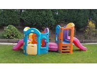 Little Tikes 8 in 1 Playground - slide climbing frame