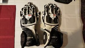 Knox Handroid Gauntlet Race Gloves Size M