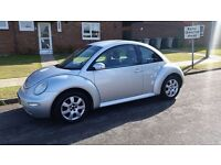 VW Beetle with 12 months MOT