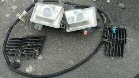 Vectra c fog lights for sale