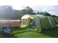 Large Famliy Tent with Porch - Vango Nadina 600 with Carpet and Footprint