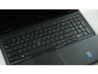 Dell laptop i7 2.6ghz full hd screen and nvidia graphics