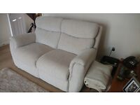 Sofas x2 (3 seater and 2 seater) Detroit Lazy Boy (SCS)