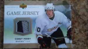 Carte Hockey Corey Perry Game jersey