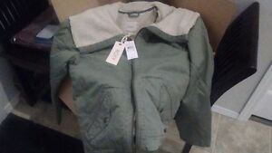 Roxy jacket XL new with tags olive in color