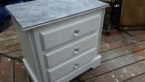 Beautifully Re Charmed Vintage Night Stand Make Over