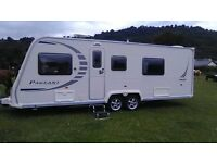 Amazing bailey pageant ' limosean' 4 berth fixed bed 2009