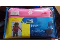 Pink Zoggs swim buoyancy jacket aged 2-3 Years