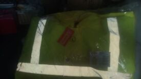 Seen new in bag large hi Vis coat
