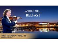 Andre Rieu tickets - 3 for Friday