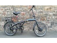 FULLY SERVICED UNISEX CONNECT FOLDING BICYCLE( NON ELECTRIC BIKE )