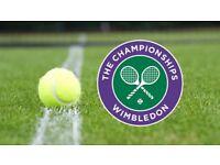 2x Wimbledon Tickets, Nº1 Court, Saturday 7 July