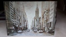 Large Canvas Print Of The Chrysler Building
