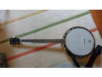 Rover 5 String Closed Back Banjo