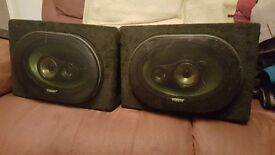 6x9 speaker boxes with speakers