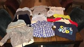 Boys Clothes Aged 3-6 Months