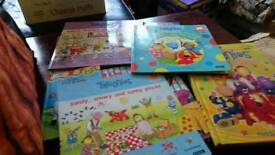 Selection of tweenies books
