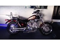 Motorbike yamaha xv535