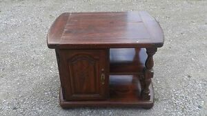 Wooden Occasional End Table