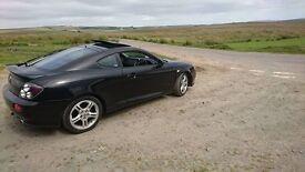 2006, 2.0L Hyundai coupe, MOT till march £800 ono