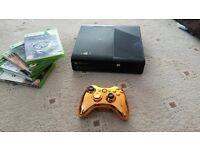 Xbox 360 + Gold controller 250gb