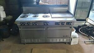 Electric Commercial Range (Garland)