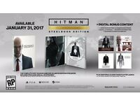 Hitman: The Complete First Season Steelbook PS4 INC. DLC