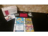 pink nintendo dsi boxed with games ideal xmas gift!!!