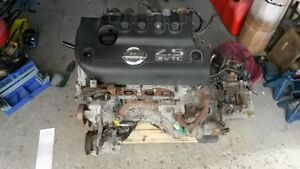 QR25DE and 5 Speed Transmission