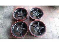 Rota Group N 15 inch alloy wheels, honda, toyota, mugen