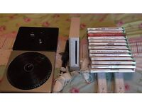 Nintendo Wii Console and DJ hero