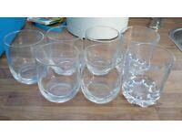 7x Drinking Glasses FREE