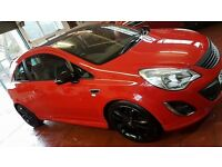 Vauxhall Corsa D 1.2L Limited Edition Red 75,000 miles IRMSCHER