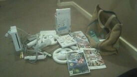 wii and couple of games
