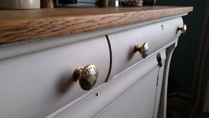 Refinished French Empire Sideboard