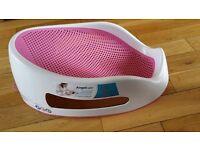 pink baby bath perfect for newborns