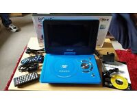 ie geek portable dvd player - boxed