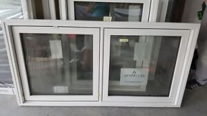 2 brand new triple glass and double glass window