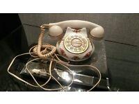 royal albert porceline telephone