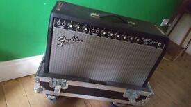 Fender Deluxe Reverb Reissue in flightcase