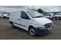 Mercedes-Benz Vito 113 Cdi LWB Van DIESEL MANUAL WHITE (2013)