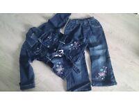 denim clothes age 5-6
