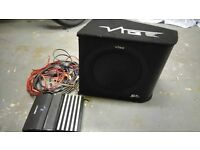 Vibe Subwoofer with amp and wires