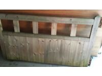 6ft byu 3ft solid wooden drive gates excellent condition