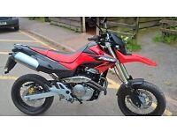 honda 650cc super Moto