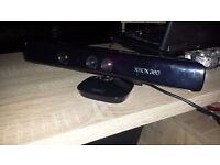 XBOX 360 BLACK KINNECT SENSOR, NEW VERSION PERFECT WORKING ORDER!!!
